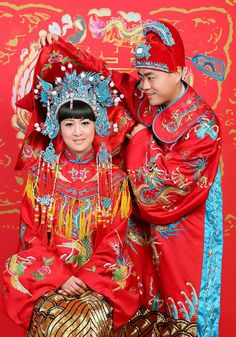 #Asian Fashions | Follow #Professionalimage ~ Traditions | Chinese Wedding Traditions