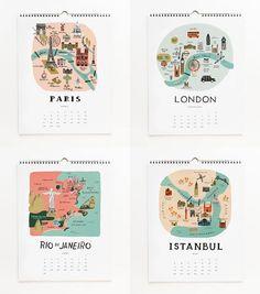 2013 Cities Calendar · $26.00