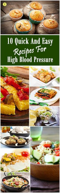 Take a look at 10 of the best recipes we have compiled for you to help lower your blood pressure