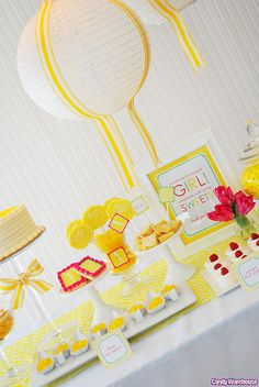 Yellow Candy Buffet by candywarehouse, via Flickr