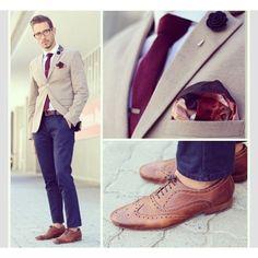 Corbata color MARSALA contrastado claros y obscuros. #contrevera #contreverastyle #style #styleformen #men #fashion #class