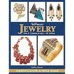 """Read """"Warman's Jewelry Identification and Price Guide"""" by Kathy Flood available from Rakuten Kobo. The edition of Warman's Jewelry: Fine & Costume Jewelry price guide is for any jewelry lover interested in jadeite, . Vintage Costume Jewelry, Vintage Costumes, Coco Chanel, Jewelry Tree, Fine Jewelry, Jewellery, Antique Jewelry, Vintage Jewelry, Antique Items"""