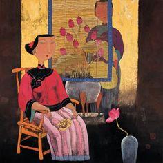Hu Yongkai                     Hu Yongkai was born in Beijing in 1945. He is now member of the Chinese and Hong Kong Artists Association an...