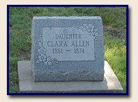 Historical Cemetery Mount Allen in Hays, Kansas