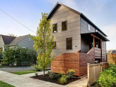 Great siding, Madrona remodel