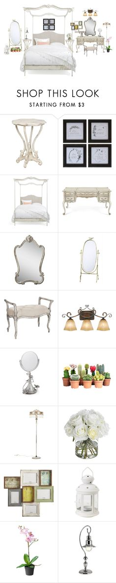 """Antique touch♥"" by zayngirl27 ❤ liked on Polyvore featuring interior, interiors, interior design, home, home decor, interior decorating, WALL, Hooker Furniture, Uttermost and Hearts Attic"