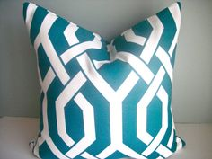 SET Of TWO Indoor/Outdoor 18X18 Designer by simplydivinebyjoann, $60.00