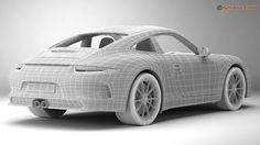 Car blueprint setup mayaphotoshop tutorial maya pinterest porsche 911 r 2017 3d model max obj 3ds fbx c4d lwo lw lws 19 malvernweather Image collections