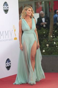 Heidi Klum arrives at the Primetime Emmy Awards in Los Angeles Picture Gallery image # 199857 at Primetime Emmy Awards 2012 containing well categorized pictures,photos,pics and images. Sexy Dresses, Fashion Dresses, Talons Sexy, Catwalk Models, Heidi Klum, Sexy Legs, Gorgeous Women, Beautiful, Female Models