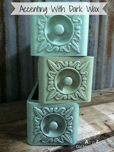 Old Sewing Machine Drawers are always fun upcycles! Daddy Van's All Natural Decorative Wax makes it easy to accent your painted furniture! This tutorial includes a video tutorial to show you how! (500×667) http://atozcustomcreations.net/tip-talkin-tuesday-answering-your-questions-about-daddy-vans-dark-wax/