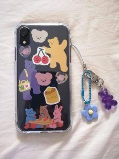 Kpop Phone Cases, Kawaii Phone Case, Diy Phone Case, Iphone Phone Cases, Korean Phone Cases, Homemade Phone Cases, Iphone Icon, Cute Cases, Cute Phone Cases