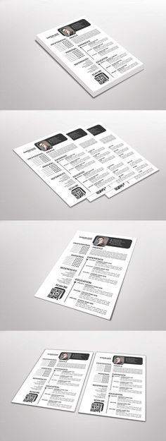 Free Business Cards templates bundled with JOB Resume by ikonome