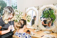 Noiva Paola Cabelo: Leandra Ribeiro Acessório: Carmen Nazar Vestido: Aline Ciafrino Foto: F2 fotografia #makeup #noiva #beauty #dianoiva #vemproprya #prya #belezadanoiva #Noivasrio