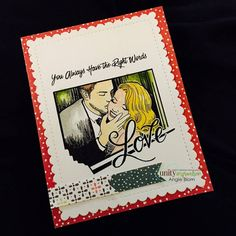 Still looking for the perfect stamp for a Valentine for your significant other? Here it is!