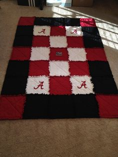 Alabama Quilt With Fleece Back Quilting Alabama Quilt