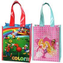 Bulk Disney Friends Laminated Tote Bags At Dollartree