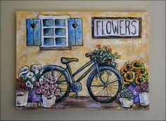 Flowers, Painting, Art, Art Background, Painting Art, Kunst, Paintings, Gcse Art, Flower