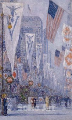 childe hassam paintings | may 1919 frederick childe hassam my favorite childe hassam painting ...