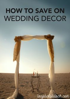 These 7 tips on how to save on wedding decor are a great way to incorporate the wedding decor and design inspiration you love—without breaking your wedding budget.