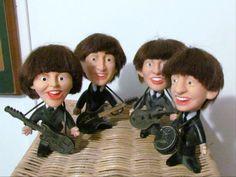 Vintage Beatles Dolls