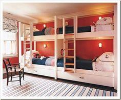bunk room - nautical