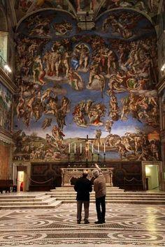 Michaelangelo's Sistene Chapel Ceiling
