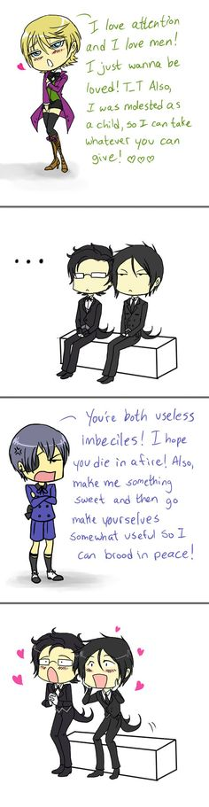Sorry Alois...Ciel is soo much better than you <3
