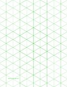More than 900 papers you can download and print for free. We've got graph paper, lined paper, financial paper, music paper, and more. Here Isometric Graph Paper with 1-inch figures (triangles only) on letter-sized paper paper