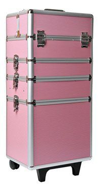 Mollycoddle 4-in-1 Pink Beauty Trolley   Your #1 Source for Beauty Products