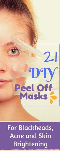 21 DIY Peel Off Face Masks For Blackheads, Acne and Skin Brightening #Homemadefacemasks #DrySkinCauses #CucumberFaceMask Homemade Face Masks, Diy Face Mask, Dry Skin Causes, Diy Masque, Face Mask For Blackheads, Blackhead Mask, Blackhead Remover, Charcoal Face Mask, Too Faced