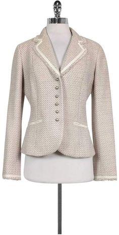 Elie Tahari, Work Wardrobe, Tweed Jacket, Lavender, Classy, Mens Fashion, Blazer, Casual Menswear, Sweaters