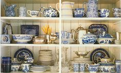 A more interesting way to showcase our china, silver & glassware collections in the studio.