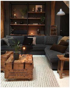 Dream Home Design, Home Interior Design, House Design, Interior Livingroom, Interior Modern, Home Living Room, Living Room Designs, Living Room Decor, Decor Room