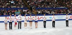 〈表彰式(12月23日)〉 ソチ冬季五輪代表に選ばれたフィギュアの選手たち=23日夜、さいたまスーパーアリーナ、飯塚晋一撮影