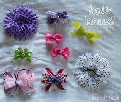A Few Little Baby Crafts