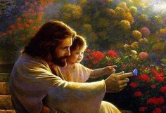 """""""Jesus loves the little children"""".  This picture is my computer screensaver."""