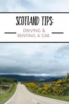 Planning a trip to Scotland? Get tips for renting a car in Scotland: which type of car to choose, if you need a GPS, and tips for driving in Scotland. Honeymoon In Scotland, Scotland Vacation, Scotland Travel, Ireland Travel, Cork Ireland, Iceland Travel Tips, Europe Travel Tips, Travel Abroad, Travel Destinations