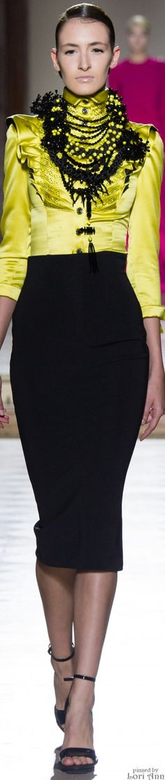 Julien Fournié Haute Couture Fall 2014.                        FS2