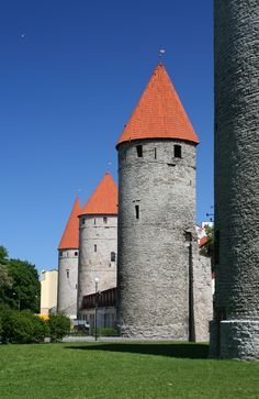 Beautiful Tallinn, Estonia where one of Europe's best preserved medieval old town's can be found. Oh, and Vikings were too.