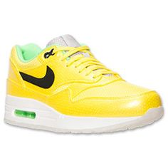 The Nike Air Max 1 FB Premium Running Shoes remain iconic. The premium men's shoes are dressed in a leather, suede and textile upper for a durable yet breathable look. Bold color-blocking on the upper really pops, while a white midsole keeps things anchored. The look is completed with a heel Air Max unit for superior cushioning.   FEATURES:  UPPER: Leather, suede and textile MIDSOLE: Air Max unit IMPORTED