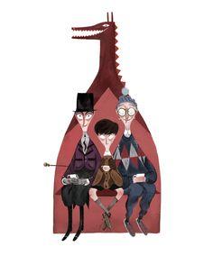 .: Charlie and the Chocolate Factory // Julia Sarda