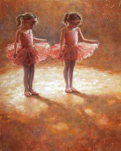 "Saatchi Online Artist: Amanda Jackson; Oil 2008 Painting ""Pretty In Pink"""