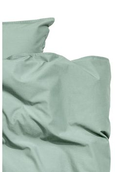 Bavlněná sada povlečení - Tlumená zelená - | H&M CZ 3