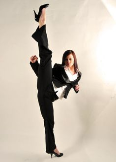 The girl of martial arts: Chloe Bruce