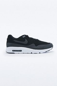 48179cdca7be Nike Air Max 1 Ultra Moire Trainer in Black