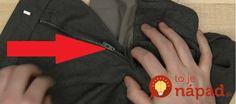 Pokazil sa vám zips na obľúbených nohaviciach, sukni alebo šatoch? Nezúfajte, ukážeme vám jednoduchý trik, ako ho opraviť za pár sekúnd. :-)