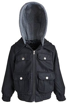 Big Chill Little Boys Toggle Wool Jacket