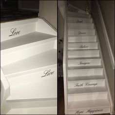 #love #live #laugh #dream #believe #imagine #faithcourage #hopehappiness  #staircase #myhome❤️
