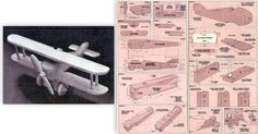 Wooden Biplane Plans - Children's Wooden Toy Plans and Projects | WoodArchivist.com