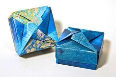Já utilizei diversas vezes e também já sugeri que vocês utilizassem caixas para presentes feitas em origami. Em algumas delas apontei um site ou diagrama p